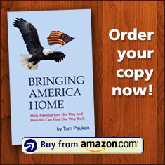 Order your copy of 'Bringing America Home' now!